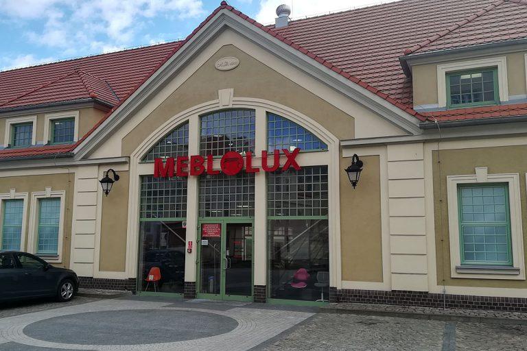 Salon meblowy Meblolux w Ostródzie